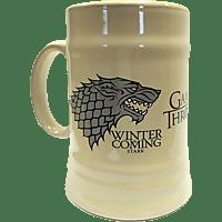 EMPIRE Game of Thrones - Stark Bierkrug Bierkrug, Mehrfarbig