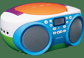 LENCO SCD-41 Radio, Mehrfarbig