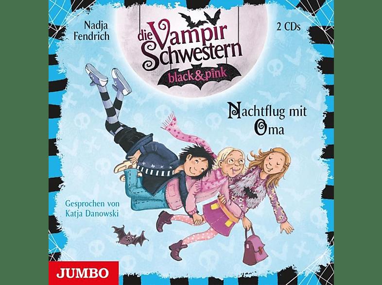 Nadja Fendrich - Die Vampirschwestern Black & Pink (5.) Nachtflug - (CD)