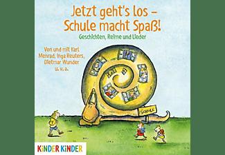 VARIOUS - Jetzt Geht's Los-Schule Macht Spass! Geschichten  - (CD)