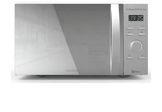 Microondas - Cecotec Proclean 8110 Full Inox, 28 L, 1000W, Grill, Acero inoxidable