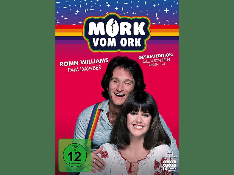 Mork vom Ork - Gesamtedition: Alle 4 Staffeln [DVD]