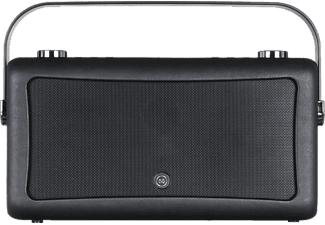 VIEWQUEST Wekkerradio Hepburn MK II DAB+ FM Bluetooth Zwart