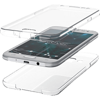 AGM 27399 , Full Cover, Samsung, Galaxy Note9, Thermoplastisches Polyurethan, Transparent