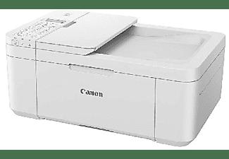 Impresora multifunción - Canon TR4551, Tinta, Color, Doble cara, Escaner, Copia, Fax, Wi-Fi, Blanco