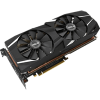 ASUS GeForce RTX™ 2080 Ti Dual 11GB (90YV0C43-M0NM00) (NVIDIA, Grafikkarte)