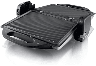 PHILIPS Kontaktgrill HD4467/90, silber-schwarz