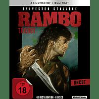 Rambo - Teil I - III 4K Ultra HD Blu-ray + Blu-ray