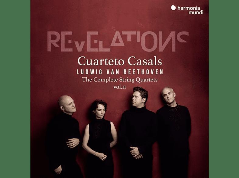 Cuarteto Casals - Sämtliche Streichquartette Vol.2 [CD]