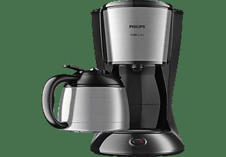 PHILIPS HD7542/20 GAIA THERM COMPACT Kaffeemaschine Schwarz/Metall