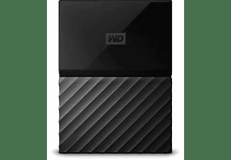 "Disco duro 4 TB - Western Digital My Passport, USB 3.0, 2.5"", Negro"