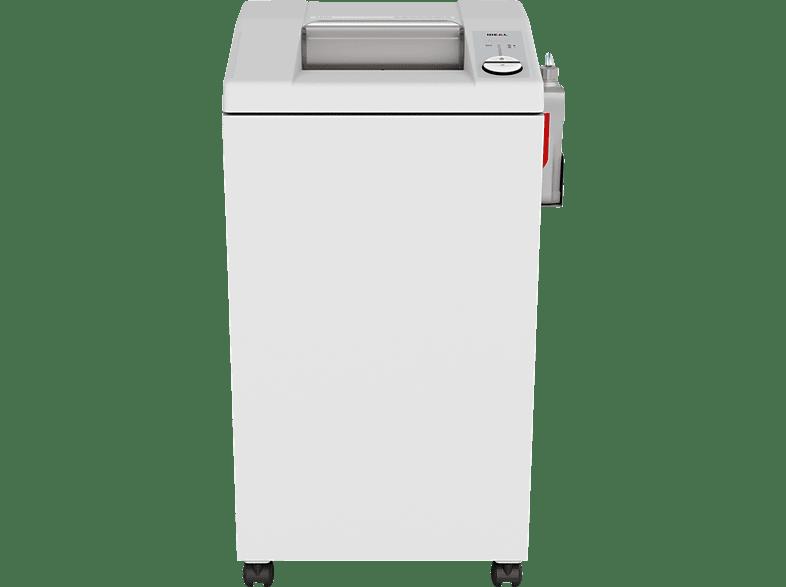 IDEAL 2604 MC mit automatischem Öler Büro-Aktenvernichter, Cool Grey