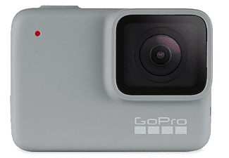 Cámara deportiva - GoPro HERO7 White, Vídeo Full HD, 10MP, Wi-Fi, Bluetooth, Gris claro