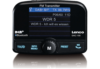 LENCO Bluetooth DAB+ ontvanger + Carkit