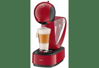Cafetera de cápsulas - Krups Dolce Gusto Infinissima, 1500 W, 15 bares, Roja