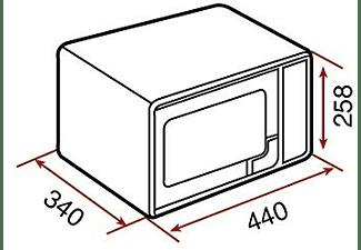 Microondas - Teka MWE 225 G, Grill, 20 litros, 5 niveles de potencia, 700 W, Blanco