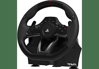 Volante - Hori Racing Wheel Apex, Pedales, USB, 270º, 1:1, PS5, PS4, PS3, PC, Negro