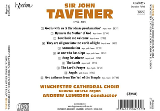 Winchester Catherdral Choir - Angels & other Works  - (CD)