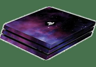 AK TRONIC UE Skin Galaxy Violet für PS4 Pro Konsole