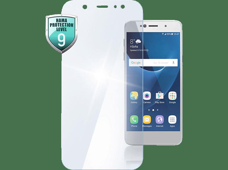 HAMA Premium Crystal Glass Schutzglas (Samsung Galaxy A6 (2018))