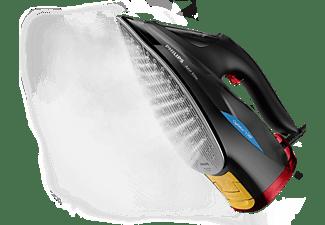 PHILIPS Azur Elite Dampfbügeleisen GC5037/80 mit OptimalTEMP-Technologie, schwarz-rot