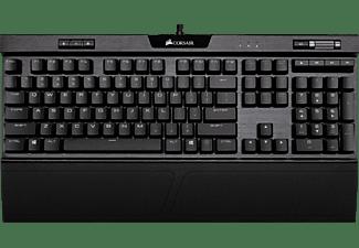 CORSAIR K70 RGB MK.2 LOW PROFILE RAPIDFIRE, Gaming Tastatur, Mechanisch