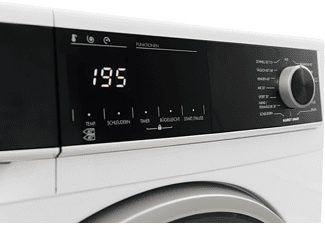 SHARP ES-HFH814AW3-DE Waschmaschine (8 kg, 1400 U/Min.)