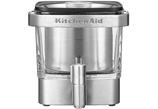 Dispensador de café frío - Kitchen Aid Cold Brew Coffee Maker, 14 tazas, Asa de aluminio, Inox