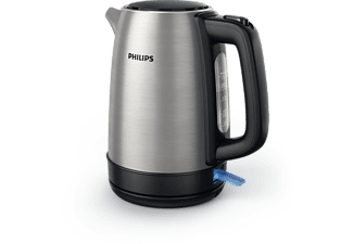 PHILIPS Wasserkocher Daily Collection HD9350/90 1,7 Liter, edelstahl-schwarz
