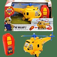 DICKIE TOYS Sam IRC Wallaby 2 Spielzeughubschrauber, Gelb