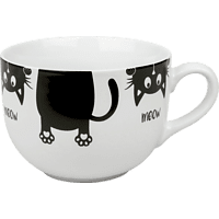 KÖNITZ 4105151777 Obere Jumbo Meow Kaffeetasse
