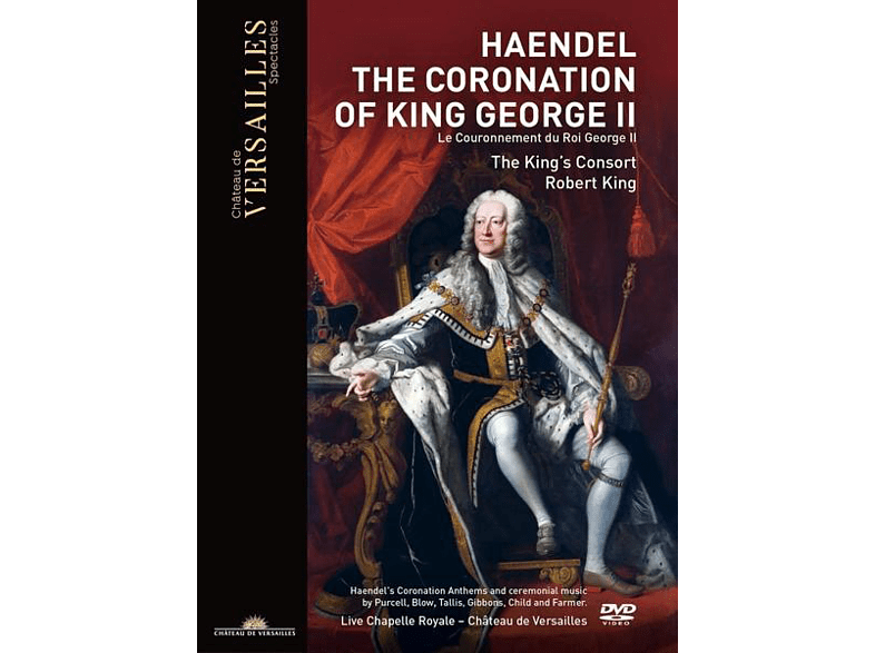 The The King's Consort - The Coronation of King George II [DVD]
