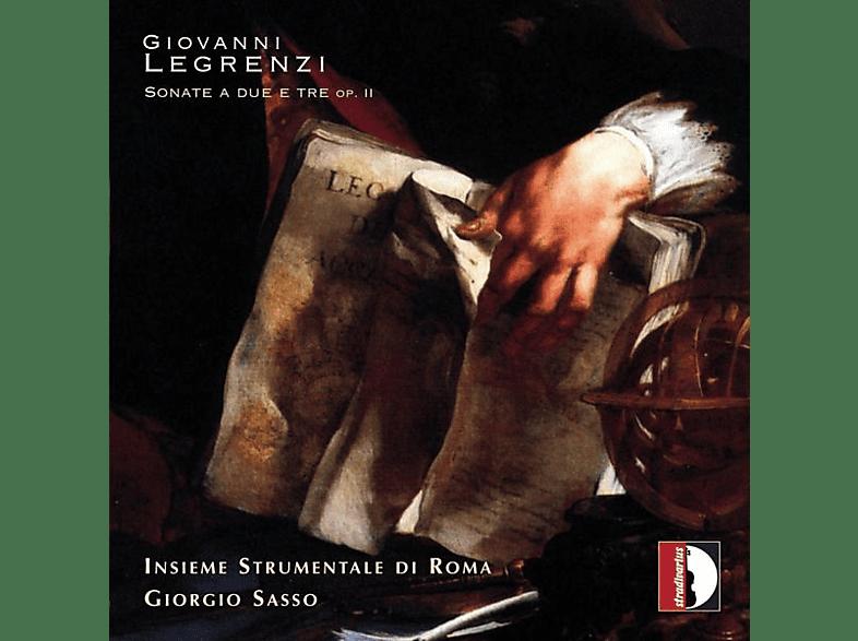 Giorgio & Insieme Strumentale Di Roma Sasso - Sonate a due e tre op.II [CD]