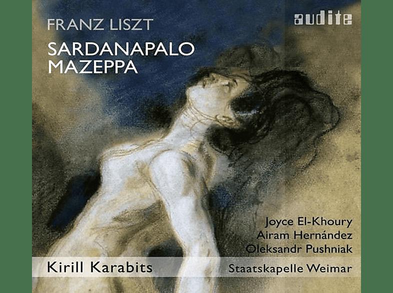 El-Khoury/Karabits/Staatskapelle Weimar/+ - Sardanapolo,Szenen 1-4/Mazeppa [CD]