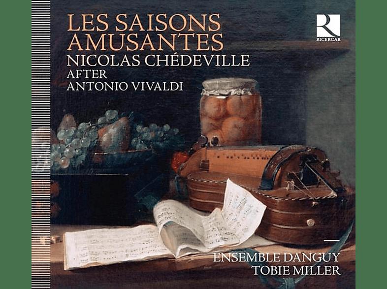 Tobie/ensemble Danguy Miller - Les Saisons Amusantes [CD]