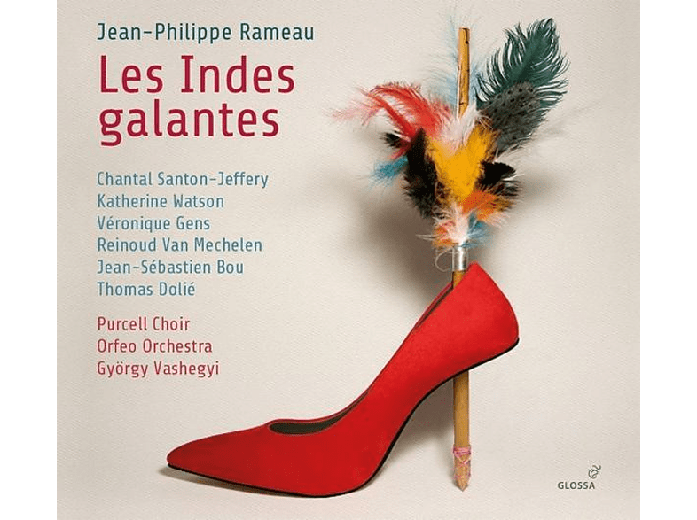 Gens/Vashegyi/Purcell Choir/Orfeo Orchestra - Les Indes Galantes [CD]