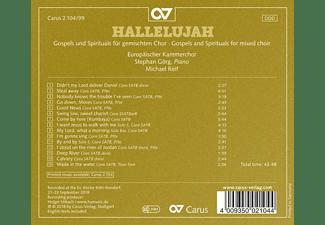 Reif,Michael/Görg,St./Europäischer Kammerchor - Hallelujah-Gospels &  Spirituals f.gemischten Cho  - (CD)