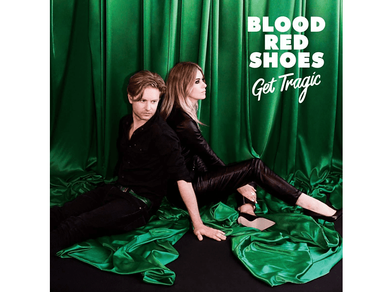 Blood Red Shoes - Get Tragic (Ltd.Green & Black Coloured LP+7'') [Vinyl]