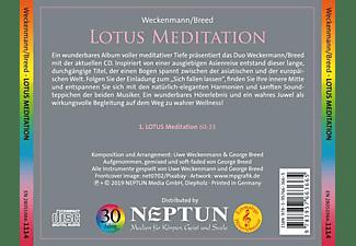 Weckenmann/Breed - Lotus Meditation  - (CD)