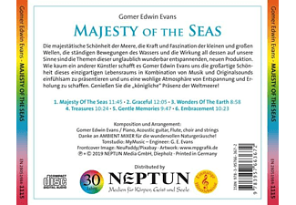 Gomer Edwin Evans - Majesty Of The Seas  - (CD)