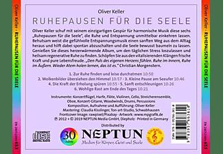 Keller Oliver - Ruhepausen für die Seele  - (CD)