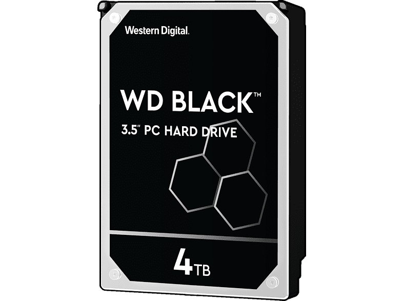 WD Black™, 4 TB HDD, 3.5 Zoll, intern