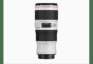 Objetivo - Canon EF 70-200mm, 176 mm, f/4 L IS II USM, Blanco