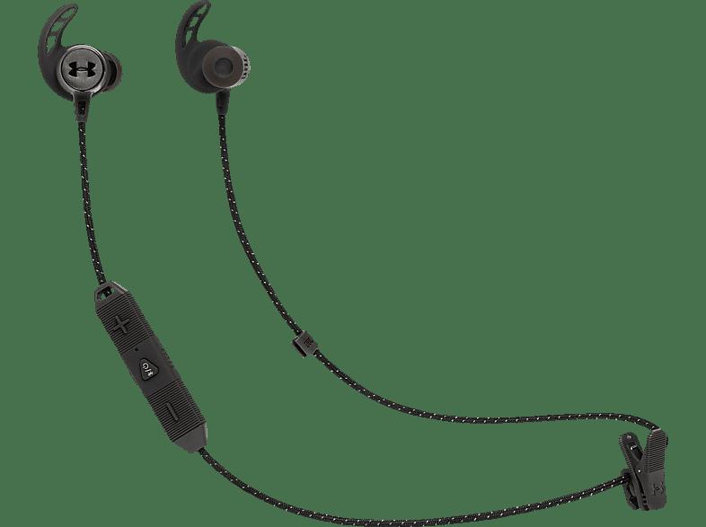 JBL Under Armour React, In-ear Kopfhörer Bluetooth Schwarz