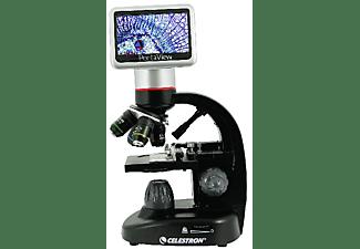 "Microscopio - Celestron Digital Pentaview, 40x-600x (hasta 2400x), LCD táctil 4.3"", Cámara 5MP"