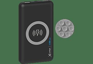 XLAYER Wireless Charger Powerbank 14.4 Wh (3.6V/4.000mAh) Schwarz
