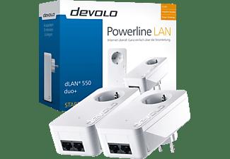DEVOLO devolo 9297 dLAN® 550 duo+ Starter Kit Powerline Powerline Adapter 500 Mbit/s kabelgebunden
