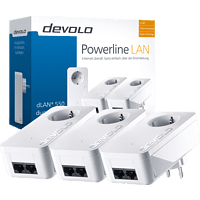 Powerline Adapter DEVOLO 9304 dLAN® 550 duo+ Network Kit 500 Mbit/s kabelgebunden