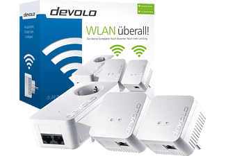 DEVOLO 9624 dLAN® 550 WiFi Network Kit Powerline Adapter 500 kbit/s