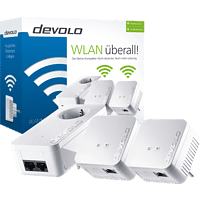 Powerline Adapter DEVOLO 9624 dLAN® 550 WiFi Network Kit 500 kbit/s